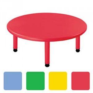 mesa guarderia redonda polipropileno