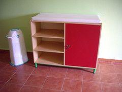 Muebles guarderias cambiador equipamiento escolar for Muebles para guarderia